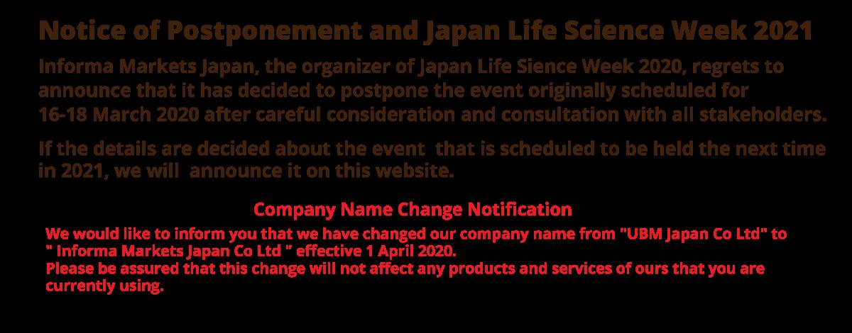 Japan Life Science Week 2021